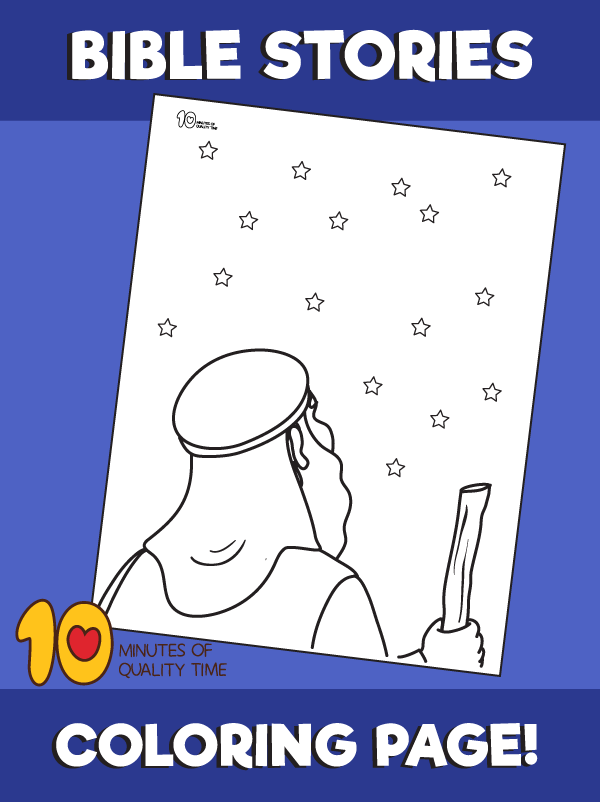 Abraham And The Promise Coloring Page 10 Minutes Of Quality Time