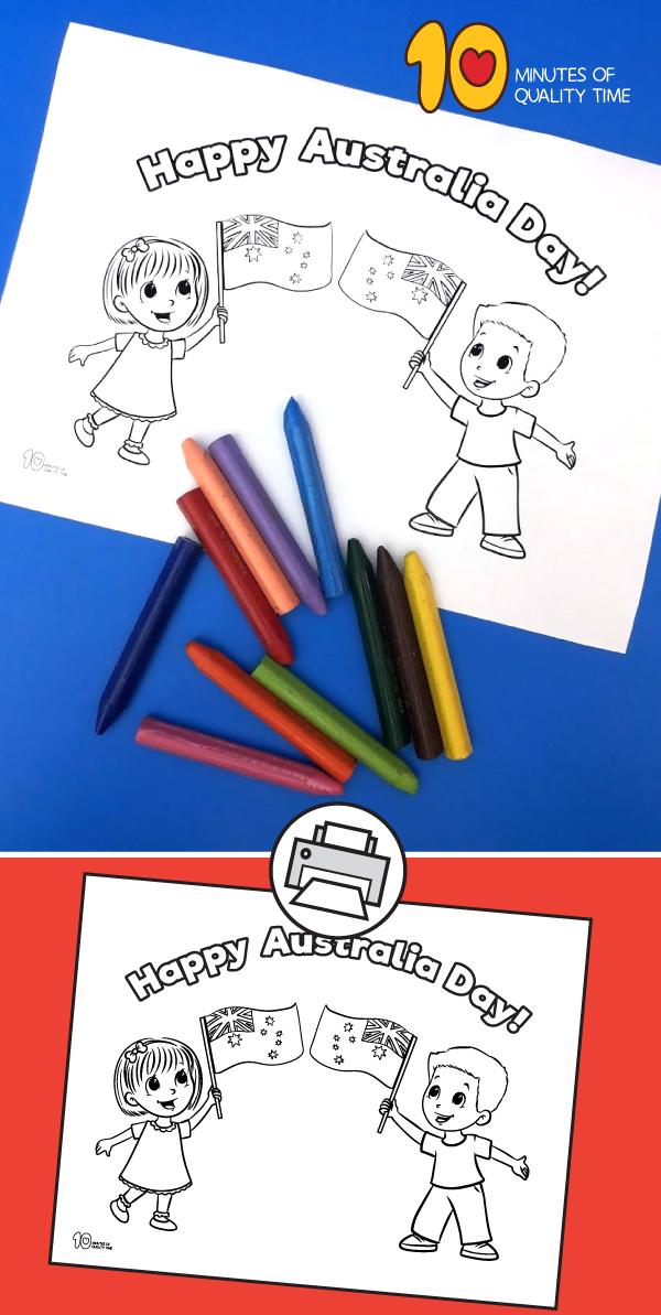 australia crafts for preschoolers