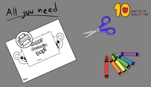 australia day crafts for preschoolers