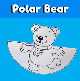 Dancing Polar Bear Craft