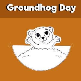 Groundhog Day Rocking Craft