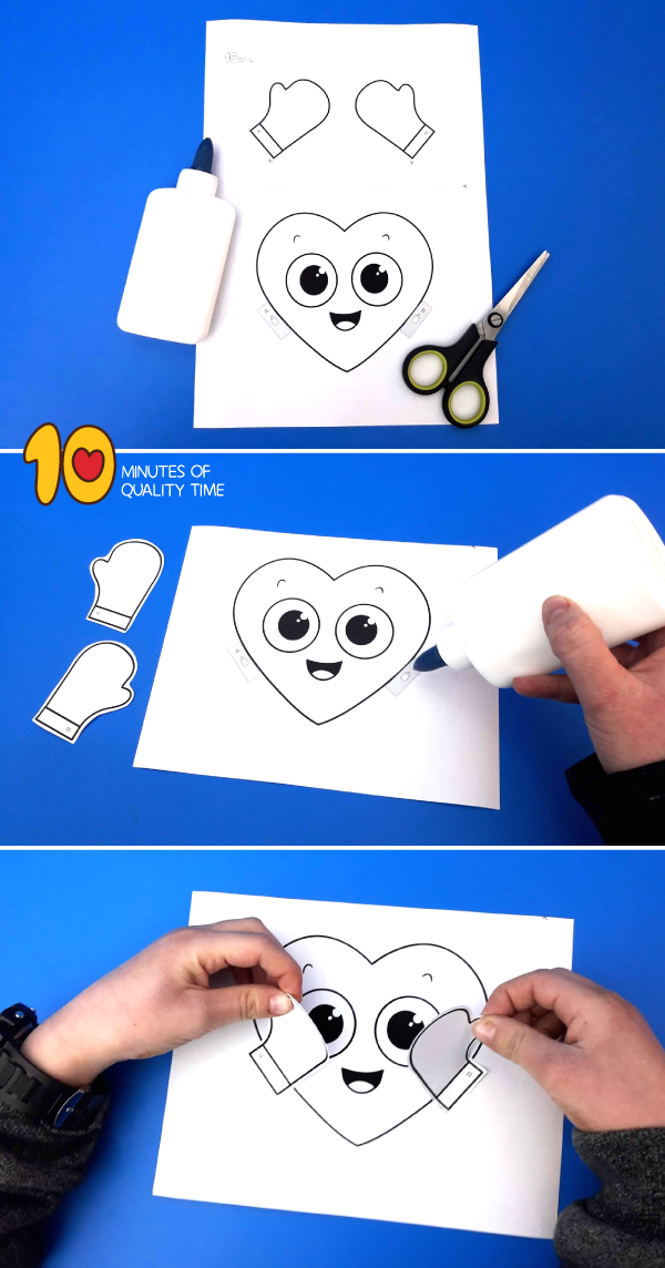 heart craft for preschoolers