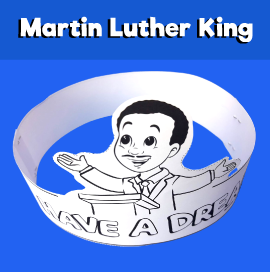I Have a Dream Printable Crown