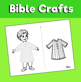 Joseph and the Coat of Many Colors Worksheet