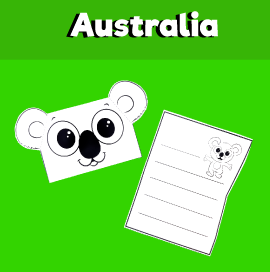 Koala Envelope Template