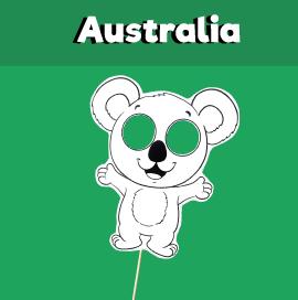 Koala Paper Mask