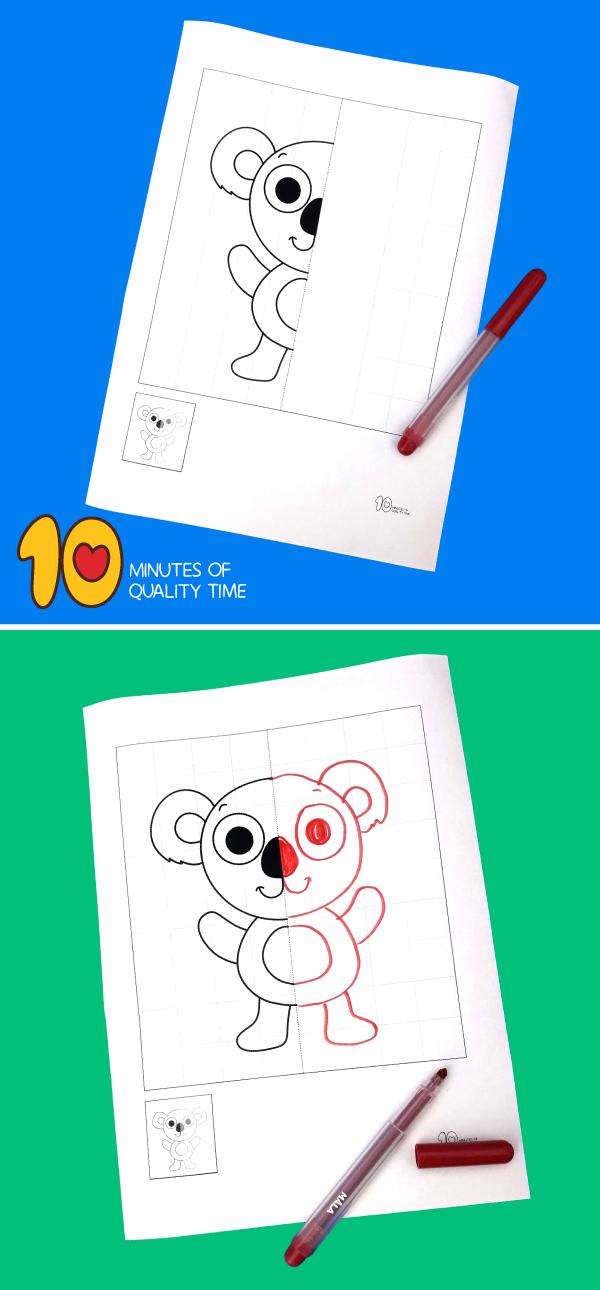 koala bear printable