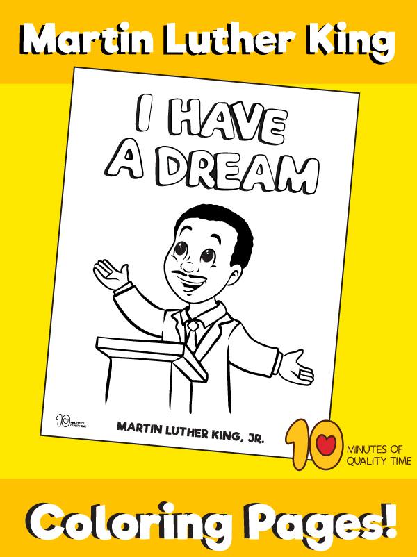 martin luther king crafts preschool