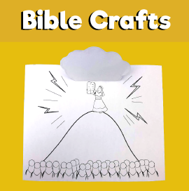 Moses and the Ten Commandment Craft