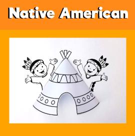 Native American 3D Tent
