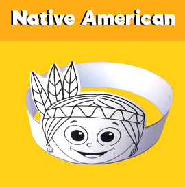 Native American Printable Headband