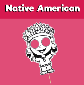Native American Printable Mask