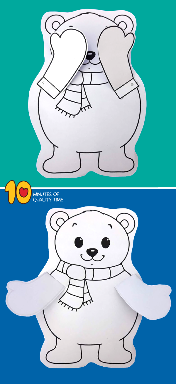 polar bear activities for toddlers