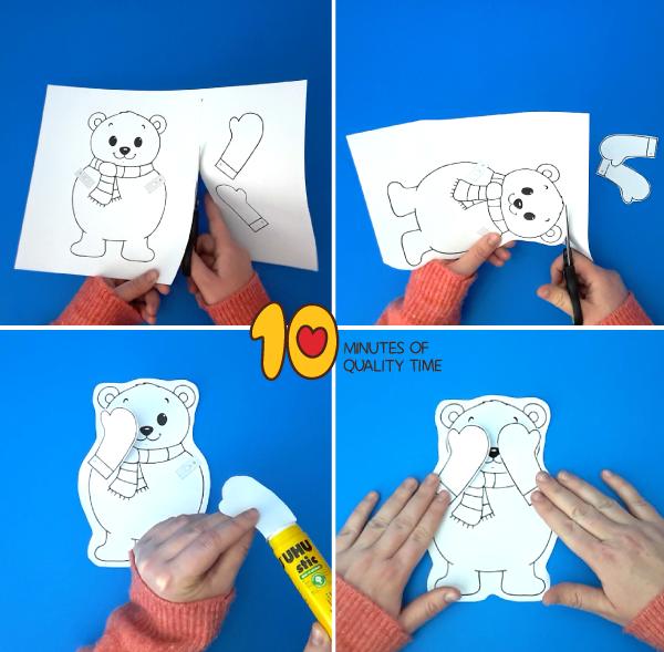 polar bear activities for first grade