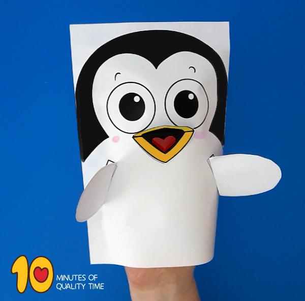 Penguin craft kindergarten