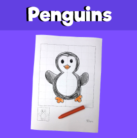 Penguin Symmetry Worksheet