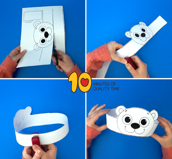 polar bear crafts for preschoolers