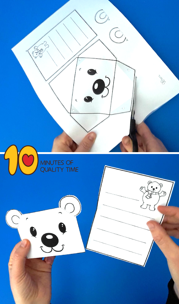 polar bear craftivity