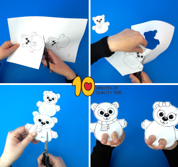 polar bear activities for first grade