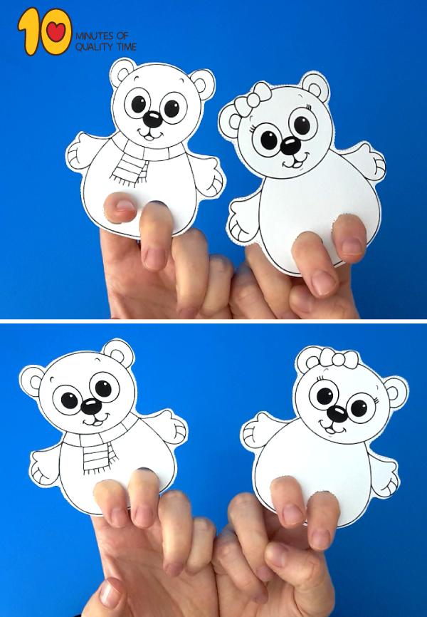 polar bear printouts
