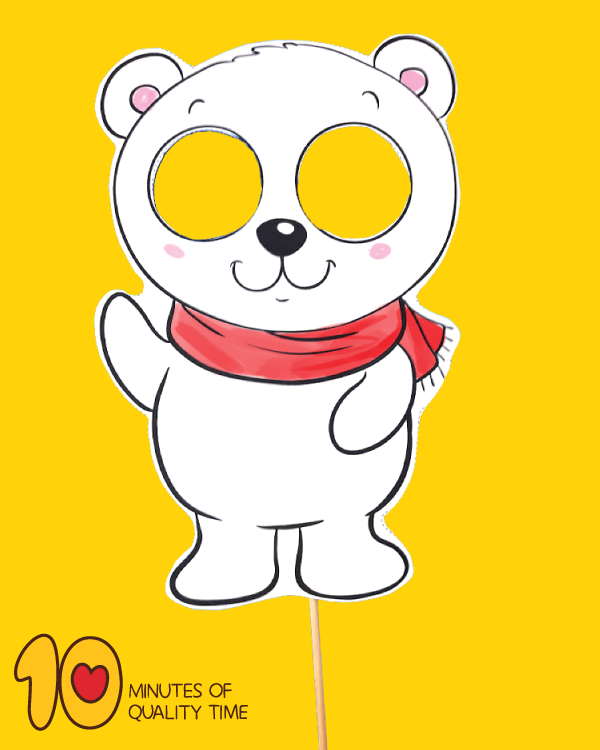 polar bear crafts for preschoolers