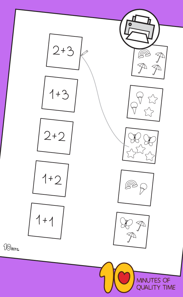 math worksheets for kindergarten addition