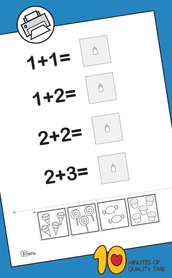 kindergarten math addition coloring worksheets