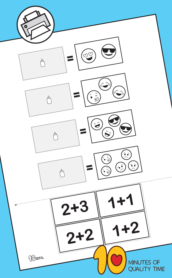 kindergarten math worksheets addition to 10