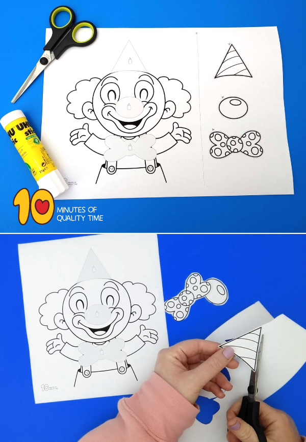 clown activity for toddlers