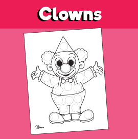 Clown Dot Activity