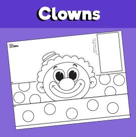 Clown Paper Hat