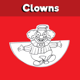 Dancing Clown Craft