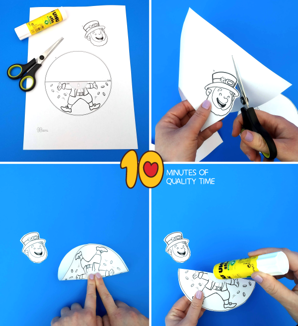 leprechaun crafts for kindergarten
