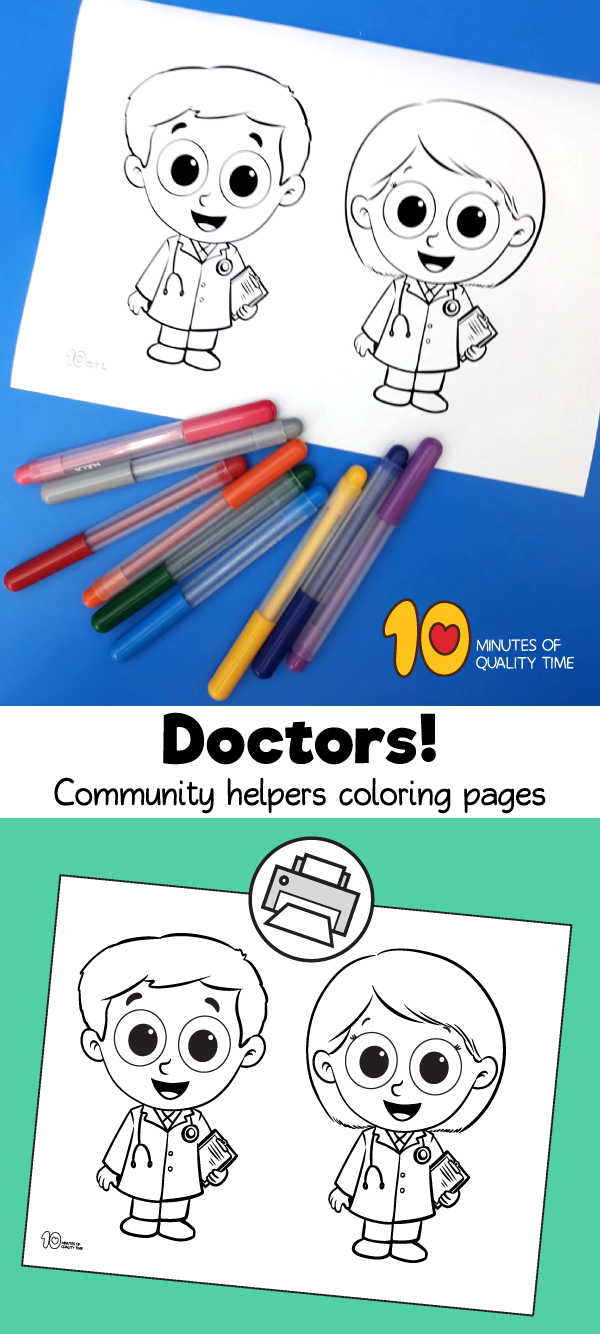 community helpers preschool crafts