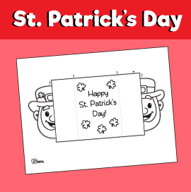 Leprechaun Card for St. Patrick's Day