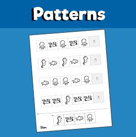 Ocean Pattern Worksheet