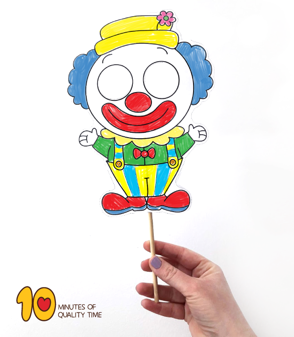 clown activity for preschool