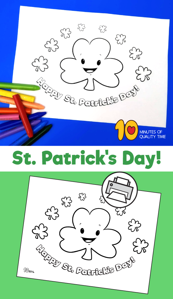 st patrick's day coloring pages pinterest
