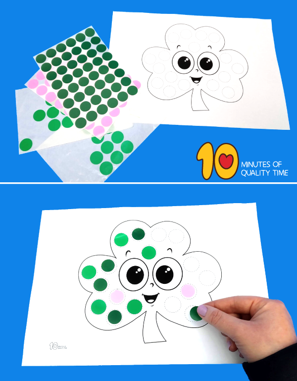 st patrick's day crafts for preschoolers easy