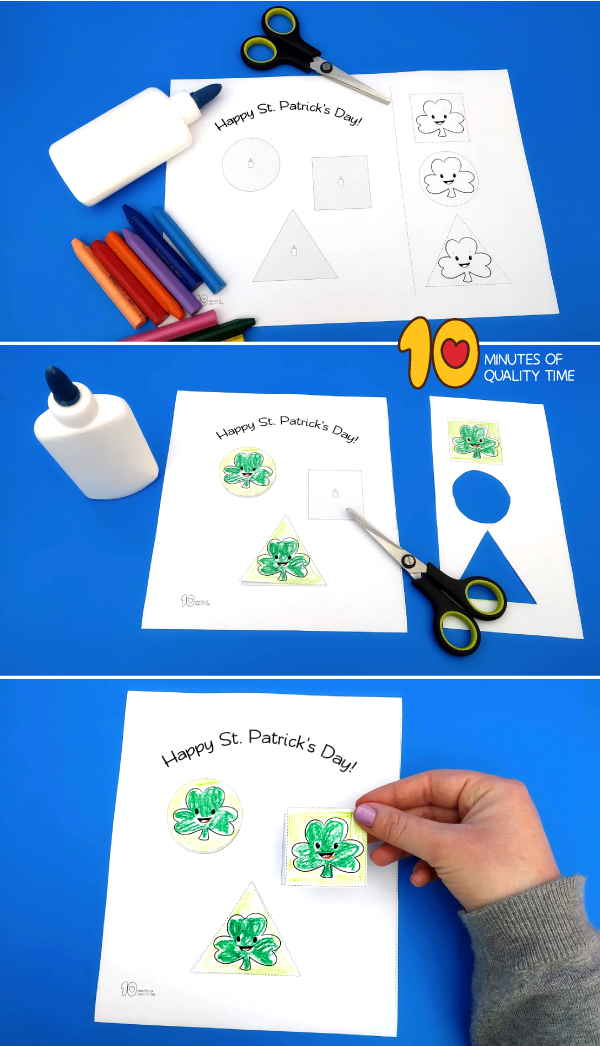 st. patrick's day crafts easy