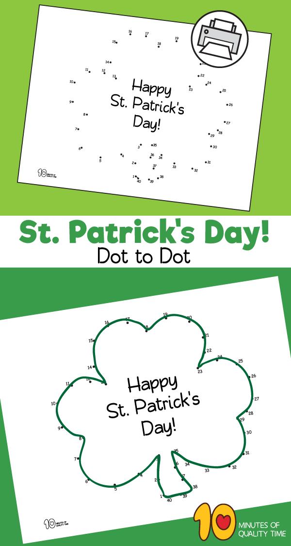 st patrick's day worksheets for kindergarten