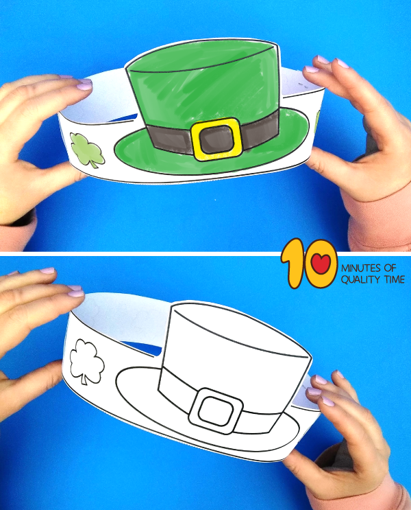 st patrick's day hats preschool