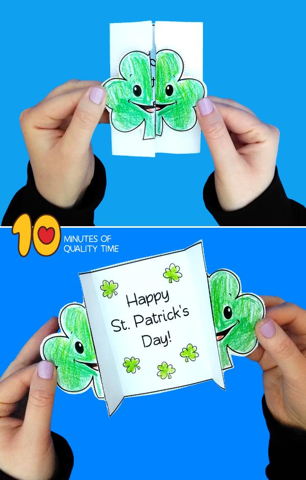 st patrick's day crafts for kindergarten