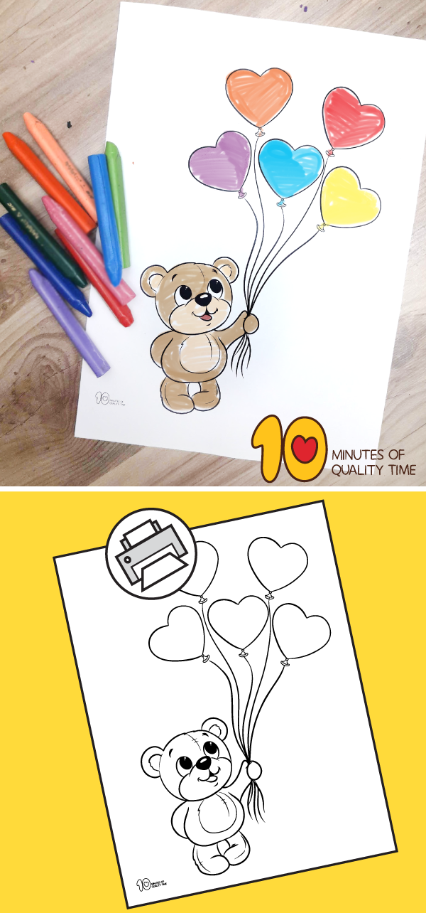 valentine's day printables for kindergarten