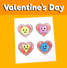 Valentine's Day Cut and Paste Printable