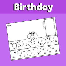 picture about Birthday Crown Printable known as 3 Calendar year Outdated Birthday Crown 10 Minutes of Good quality Season