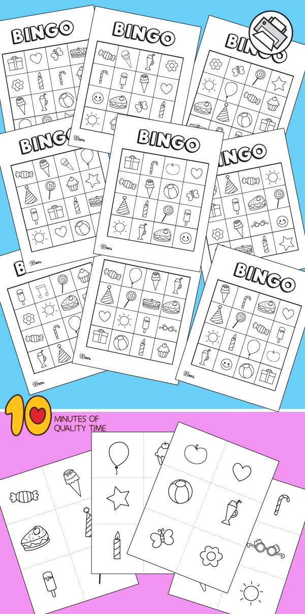 birthday bingo printable game