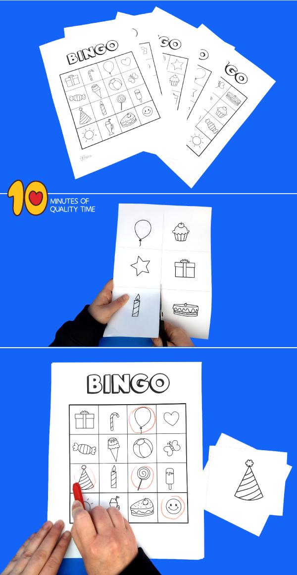 printable birthday bingo game