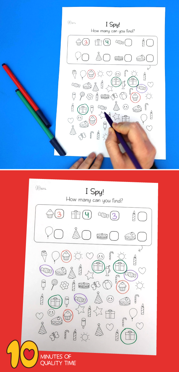 birthday worksheet for kindergarten