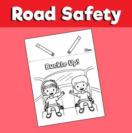 Buckle Up Car Seat Belt Craft